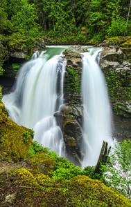 Nooksack Falls Washington Waterfall